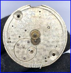 Unknown 38820 Hand Manuale Vintage 32,8 MM No Funziona For Parts Pocket Watch