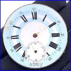 Unknown hand manual vintage 45,1 mm Pocket Watch NO Funciona for parts