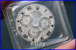 Unused Rolex Daytona Factory Meteorite Dial and Hands 116520/116509/116519