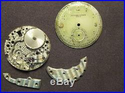 Vacheron & Constantin Genuine Extremely Rare 453 Movement Parts+dial+hands