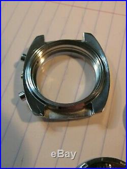 VALJOUX Caliber 7733 LANCO Watch Case & Dial & Stem & Hand Set New Old Stock