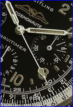 Vintage Breitling 809 Cosmonaute 1962 Or 1963 Sweep Second Hand Only