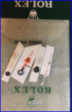 VINTAGE ROLEX GENUINE Explorer II STEVE MC QUEEN 1655 TRITIUM HANDS NEVER USED