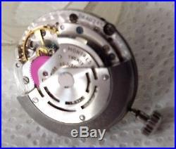 VINTAGE ROLEX MOVEMENT CAL 1570 WithCALENDAR Dial Hands Crown Works complete