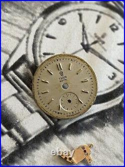 VINTAGE TUDOR Royal Ladies Caliber 1061 Watch Movement dial Hands Parts No Reser