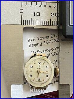 VINTAGE TUDOR Watch ladies Swiss Made 17J 19mm Parts Repair 1940s Hand-winding