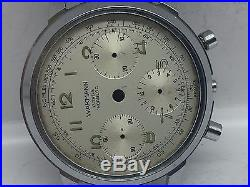 Vintage Wakmann Chorno Case + Dial + Hands For Parts