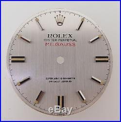 V. Rare Vintage Rolex 1019 Milgauss Mk1 Rail Dial With Hands