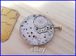 Vacheron Constantin dial, hands and movement 1003 for project or spare parts