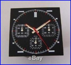 Valjoux 7736, Chronographe dial with hands, fit for HEUER MONACO, NOS swiss made