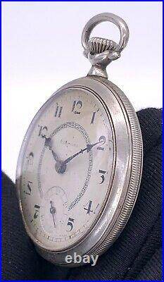 Vasconia hand manual vintage 43,3 mm NO Funciona for parts pocket watch