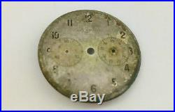 Very Rare Excelsior-Park 14' Chronograph Movement Dial Hands Case Back Parts