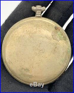 Vigilant hand manual vintage 48,5 mm NO Funciona for parts pocket watch