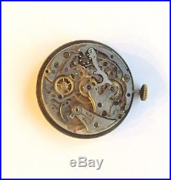 Vintage Breitling Chronograph Movement, Dial, Hands