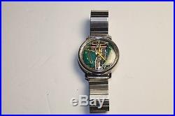 Vintage Bulova Accutron Spaceview 214 Alpha Hands Yellow Dot Parts/Repair