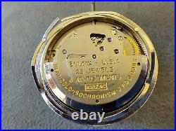 Vintage Bulova Ref IOBZAC Mystery Watch Hands Watch Movement For Parts