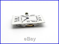 Vintage CARTIER Tank K821 Hand Wind Watch Movement and Dial 18j Works