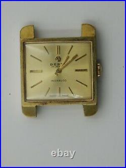Vintage Desta 240 17j Swiss Ladies Hand Wind Wrist Watch, For Parts or Repair