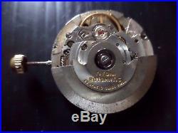 Vintage Eta 25j 2824-2, Swiss Titoni 25j Rotor, Hands, Stem & Crown