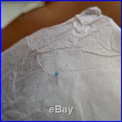 Vintage Gallet MultiChron 12 NOS Blue Steeled Subdial Hand & Crown, 5 Crystals