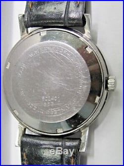 Vintage Gents Glycine Auto-Date-2nd hand Stainless Steel Wrist Watch 17 Jewels