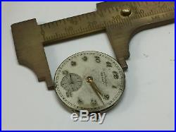 Vintage Girard Perregaux Sea Hawk Watch Movement, Dial, Hands