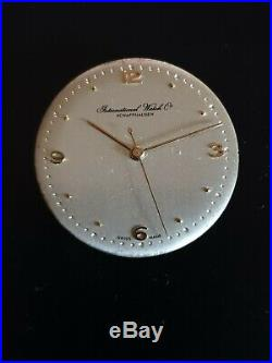 Vintage Iwc 89 Movement, Dial, Hands For Parts (working)