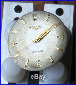 Vintage LONGINES CONQUEST watch 19AS Movement Dial Hands Used Automatic