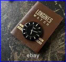 Vintage Longines 280 watch movement dial & hands good balance parts/repair 1960s