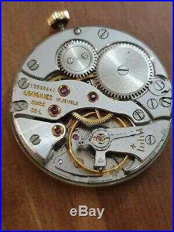 Vintage Longines 30l Movement, Dial, Hands, For Parts, Working