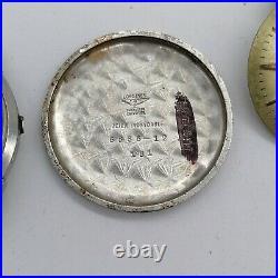 Vintage Longines Ref 6667-12, case, dial, hands, for parts