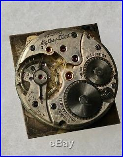 Vintage Mathey Tissot watch movement dial hands 1940s/50s for parts or repair