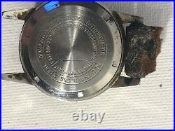 Vintage Mens Darby Watch 17 Jewel Incabloc Parts Or Repair Moon Hand