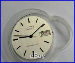 Vintage New Longines Olympian 6972 movement, dial and hands, high frequency