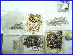 Vintage Nos Timex Electric Watch Parts Balance Wheels, Hands, Stem Crowns