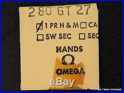 Vintage ORIGINAL OMEGA GILT Hour & Minute Hands 280GT27 For Omega Cal. 280