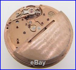 Vintage Omega Cal 1021 23 Jewel Automatic Watch Movement + 18K Dial & Hands