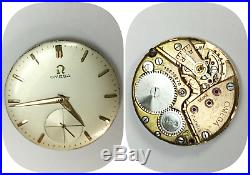 Vintage Omega Cal. 267 (movement, dial and hands)