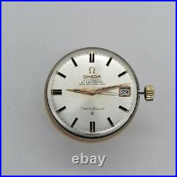 Vintage Omega Contellation movement, dial, hand, Cal 564, for parts, running