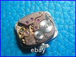 Vintage Omega De Vill Cal. 485 Hand-Winding Ladies Watch For Parts Or Restore