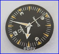 Vintage Omega Railmaster Rail Master 2914 135004 Dial with Match Hands Set 285 286