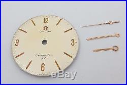 Vintage Omega Seamaster 30 Original Dial with complete hands set