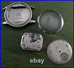 Vintage Omega Stainless Stell Hand Winding Men watch Repair Parts