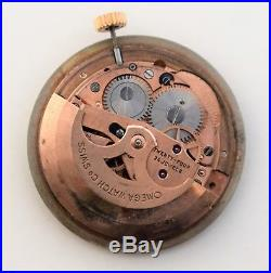 Vintage Omega movement automatic cal 562 working, with dial, hands and crown