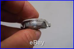 Vintage R0LEX Datejust 1603 automatic watch case/dial/crown/hands for parts