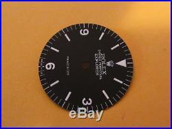 Vintage Rolex #5500 EXPLORER PRECISION Matte Black Refinished Dial + Hand-Set