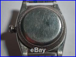 Vintage Rolex Oyster Perpetual Movement Men's case, dial, hands, Rolex Oyster +