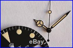 Vintage Rolex Sea-Dweller 1665 Seadweller Rail Dial Comex With Hands
