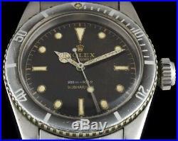 Vintage Rolex Submariner Hands Big Crown Era 5508 5510 5512 5513 6538 Radium 50s