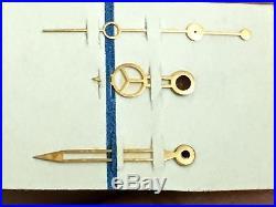 Vintage Rolex Submariner Parts GILT Hands 6538 6536 6610 6200 6536 6610